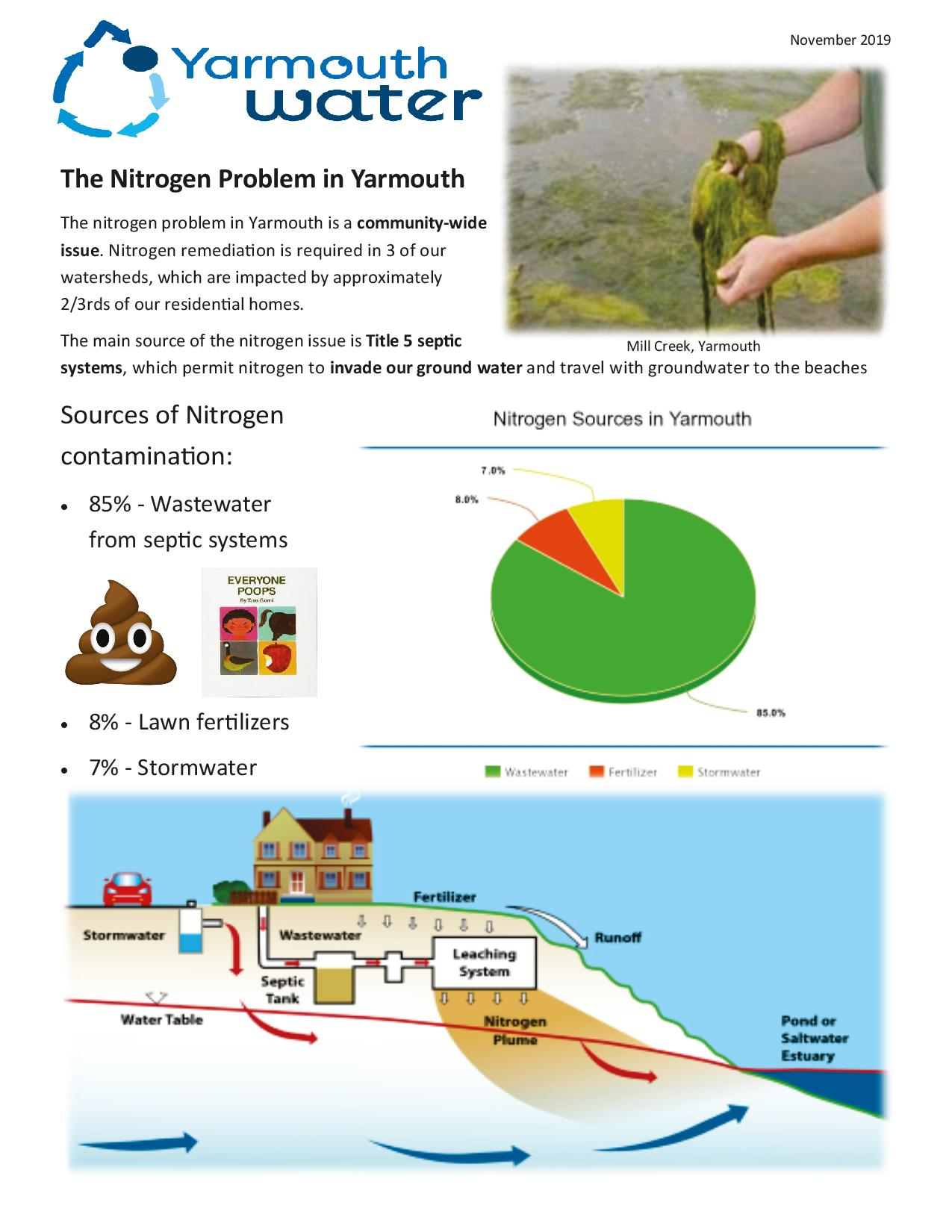 The Nitrogen Problem in Yarmouth